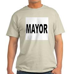 Mayor (Front) Ash Grey T-Shirt