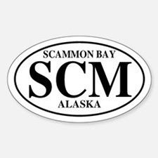 Scammon Bay Oval Decal