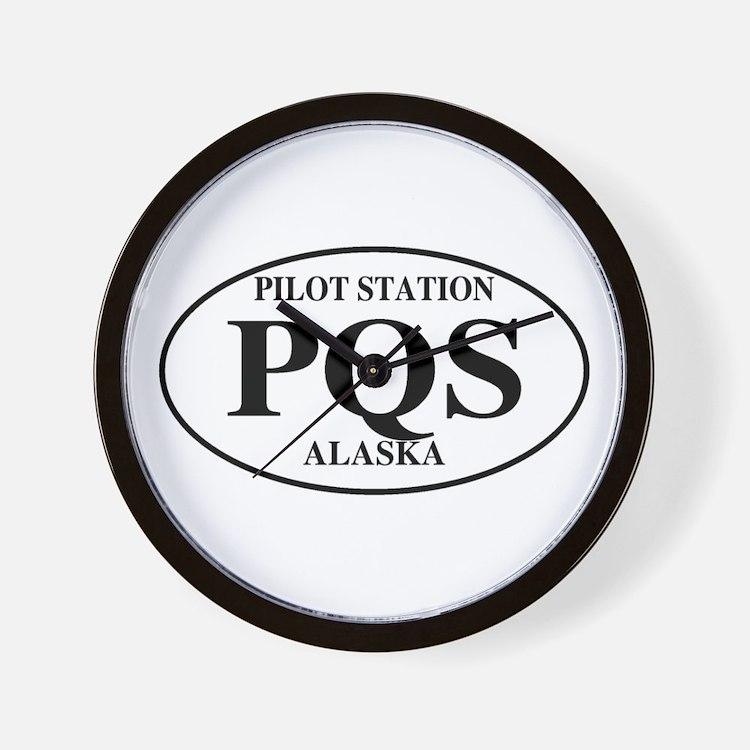 Pilot Station Wall Clock