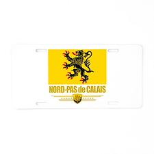 Nord-Pas de Calais (Flag 10).png Aluminum License