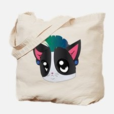 Dub Step Kitten Tote Bag