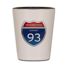 Interstate 93 Shot Glass