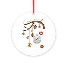 Bohemian Ornament (Round)