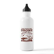 Drone Hunting Season Water Bottle