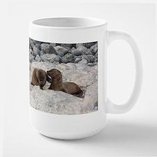 Baby Sea Lions Galapagos Mugs