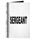 Sergeant Journal