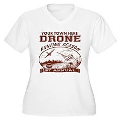 Drone Hunting Season Plus Size T-Shirt