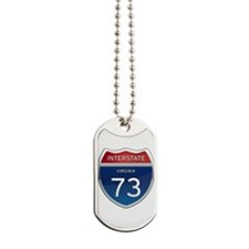 Interstate 73 Dog Tags