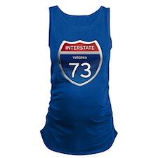 Interstate 73 Maternity Tank Top