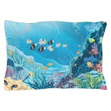 Tropical Reef Pillow Case