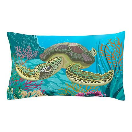 Cute Sea Turtle Pillow Case