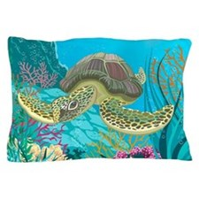 Cute Sea Turtle Pillow Case