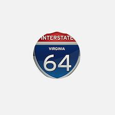 Interstate 64 Mini Button