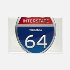 Interstate 64 Magnets