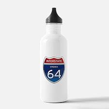 Interstate 64 Water Bottle