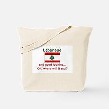 Good Looking Lebanese Tote Bag
