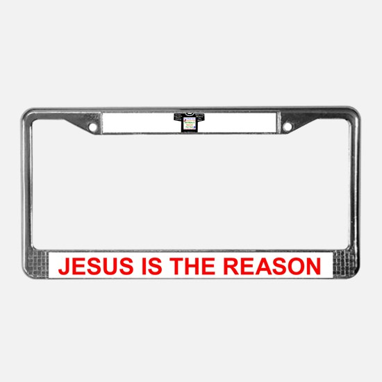 Make It Your Own! License Plate Frame