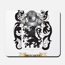 Pritchett Coat of Arms (Family Crest) Mousepad