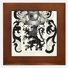 Pritchett Coat of Arms (Family Crest) Framed Tile