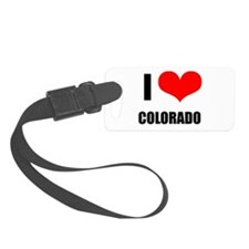 I Love Colorado Luggage Tag