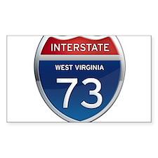 Interstate 73 Decal