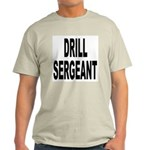 Drill Sergeant (Front) Ash Grey T-Shirt