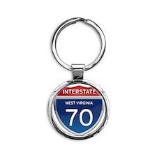 Interstate 70 Keychains