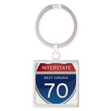 Interstate 70 Keychains