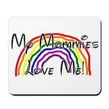Rainbow Love Mommies Mousepad