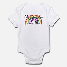 My Daddies Love Me Rainbow Infant Bodysuit