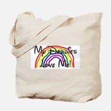 My Daddies Love Me Rainbow Tote Bag