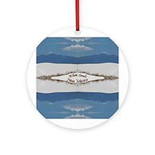 White Sands Ornament (Round)