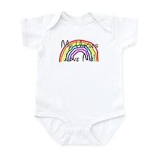 Rainbow Love Uncles Infant Bodysuit