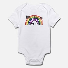 Rainbow Love Uncles Infant Bodysuit