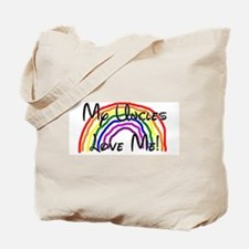 Rainbow Love Uncles Tote Bag