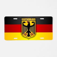 Deutschland Pride.png Aluminum License Plate