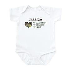 Jessica: My Hero Infant Bodysuit