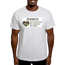 Jessica: My Hero Ash Grey T-Shirt