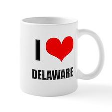 I Love Delaware Mug
