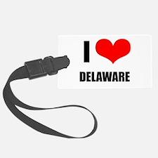 I Love Delaware Luggage Tag
