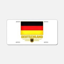 Germany (Flag 10).png Aluminum License Plate