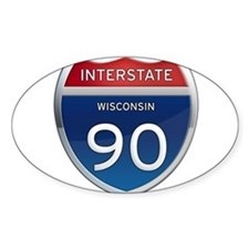 Interstate 90 Decal