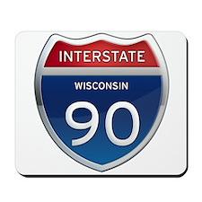 Interstate 90 Mousepad