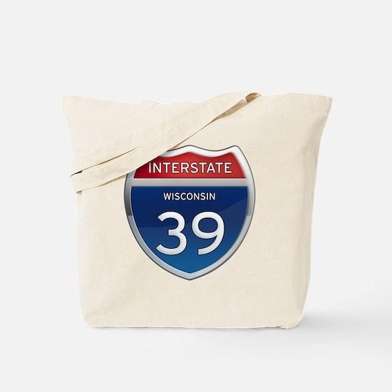 Interstate 39 Tote Bag