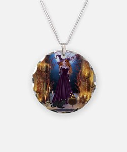 Halloween Witch Necklace