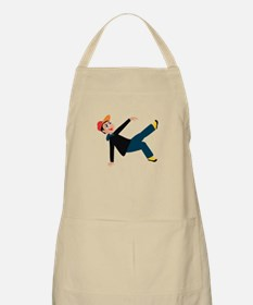 breakdancing boy graphic Apron