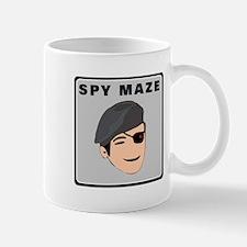Spy Maze Logo 2 Mugs