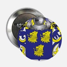 """Prudhomme Coat of Arms (Family Crest) 2.25"""" Button"""