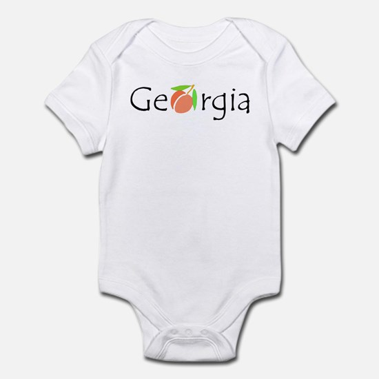 Georgia Peach Infant Bodysuit