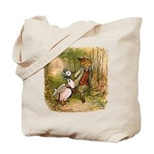 The Fox and Jemima Puddle-Duck Tote Bag
